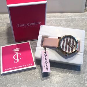 Juicy Couture NWT pink watch!